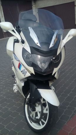 BMW K 1600GTL Biała perła
