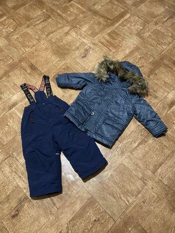 Комбинезон на мальчика 1,5-2 г. полукомбинезон курточка