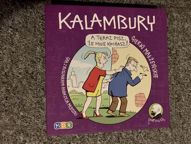 Gra planszowa Kalambury Gierki Małżeńskie z rysunkami Mleczki