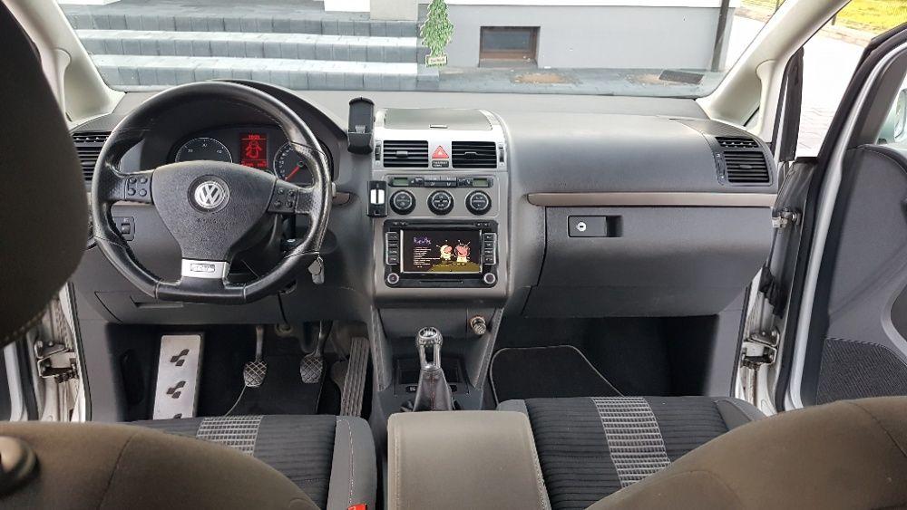 Volkswagen Touran 1.9 TDI 2008 highline DVD, NAVI climatronik FULL Czerwionka-Leszczyny - image 1