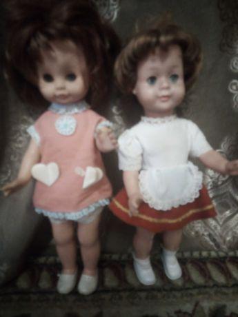 Лот куклы СССР гдр подружка и Красная шапочка