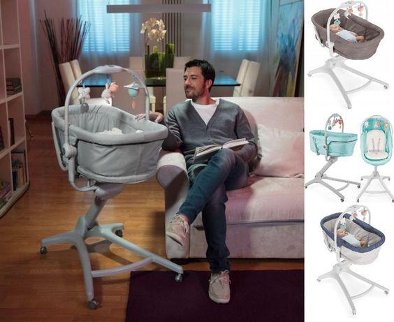 Łóżeczko leżaczek krzesełko CHICCO BABY HUG 4W1 - 7x kolor - NOWE!