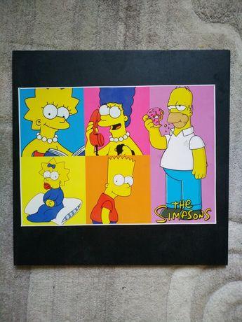Плакат Симпсоны