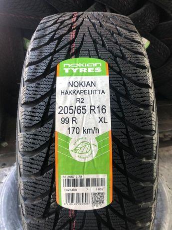 Нові зимові шини 205/65 R16 NOKIAN HAKKAPELITTA R2 ,99R