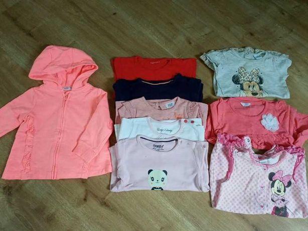 Zestaw ubrań dla dziewczynki 74/80