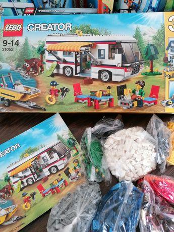 Lego Creator 31052 kamper domek motorówka