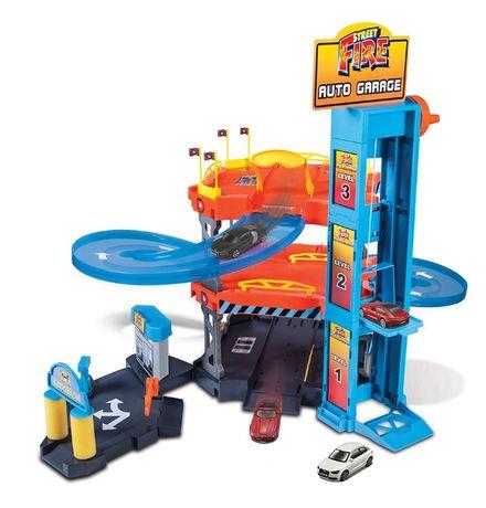 Игровой набор Bburago Паркинг (3 уровня, 2 машинки 1:43) 18-30361