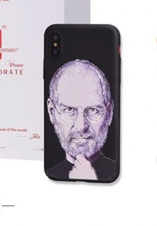 Чехол Стив Джобс на iPhone 7 и 8