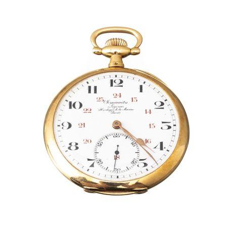 Relógio Bolso Ouro Ligeron