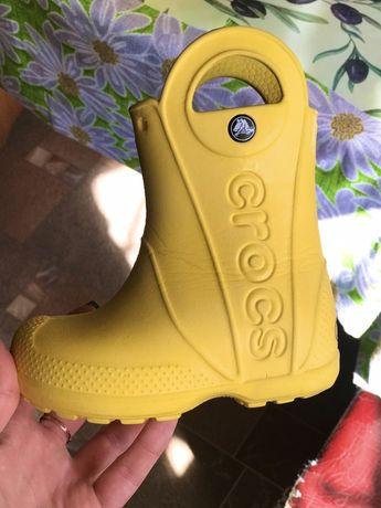 Crocs резиновые сапоги С8