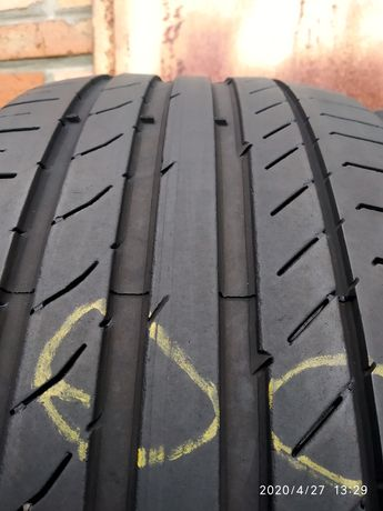 255/40r19 Dunlop Сontinental Hifly лето б/у шины с Германии