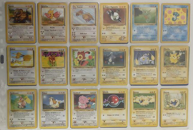 0,95€ Pokemon cartas 1998/1999