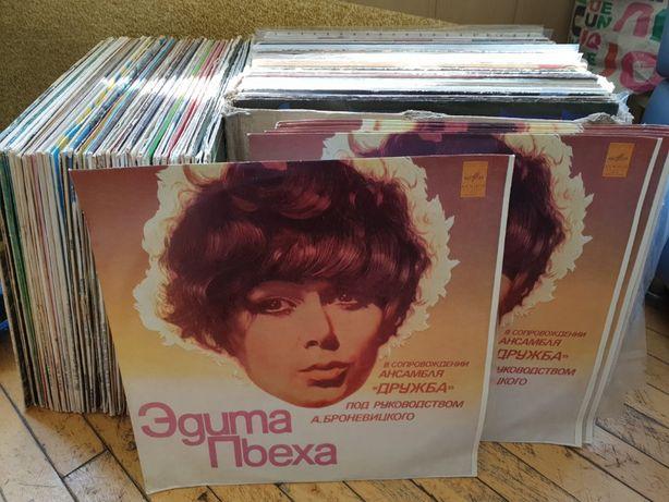 ( Mint ) Новая 1974г Эдита Пьеха Ансамбль Дружба - Виниловая пластинка