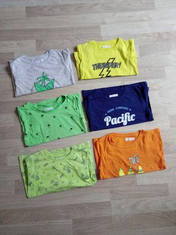 Bluzka bluzki z krótkim rękawem t-shirt neonowy Fox&bunny 110