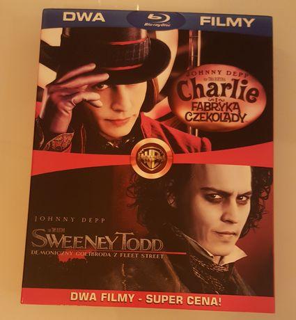Charlie i fabryka czekolady + Sweeney Todd Blu-ray