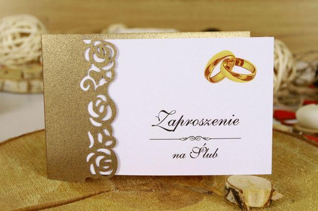 Zaproszenia GOTOWE do własnoręcznego wypełnienia na wesele ślub