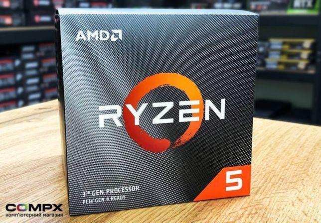 Мощь! AM4 процессор AMD Ryzen 5 3600 (3700X) NEW. CompX!