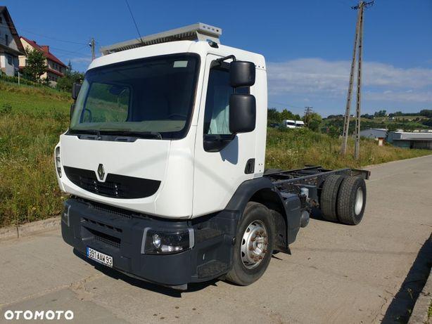 Renault PREMIUM 280 DXI RAMA DO ZABUDOWY rozstaw  osi 4m  poduszka, kiper beczka hakowiec