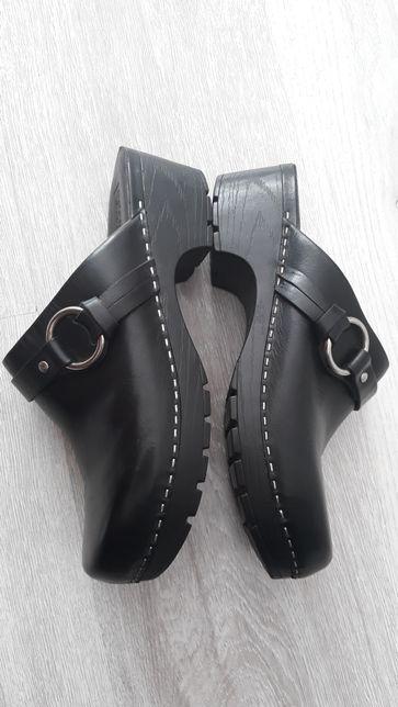 Buty kory ze skóry(rozmiar 38)dł wkładki24.5wysyłka gratis!