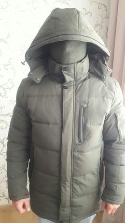 Куртка зимова олива