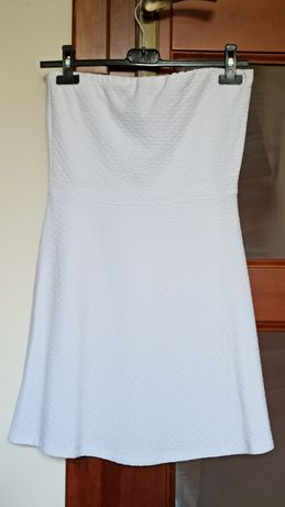 Biała sukienka (mini)