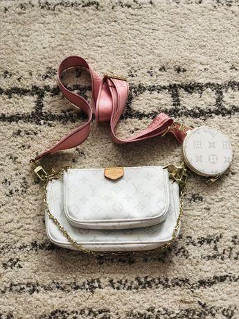 Брендовая сумка LV натуральная кожа
