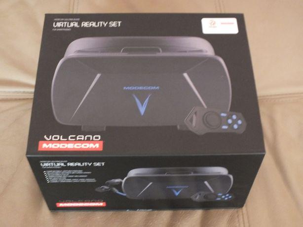 Okulary 3D Virtual Reality Set Volcano Modecom