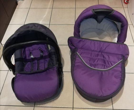 Wózek dziecięcy fun baby 3 w 1 spacerówka, gondola i fotelik samochodo