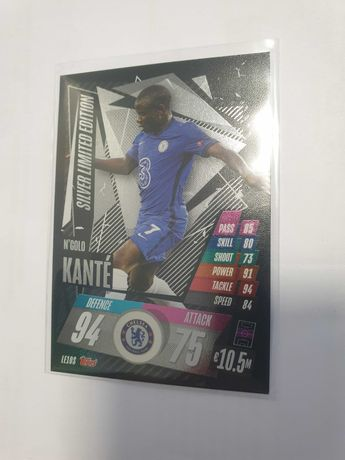 Karta KANTE Silver LIMITED EDITION - Champions League 2020/21