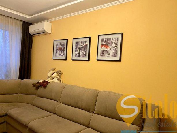 2-комнатная полнометражная квартира в центре.