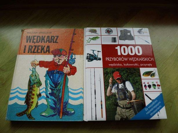 Wędkarstwo. Książki. Albumy. Wędkarz i rzeka. Prezent !