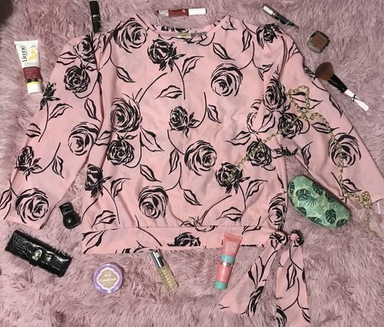 Рубашка,блузка,блуза- принт роза,юбка джинсовая,спідниця