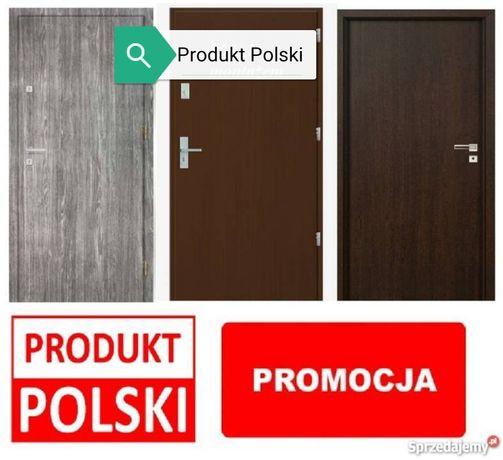Wejściowe drzwi do mieszkań w bloku z MONTAŻEM i gwarancją, Polskie!