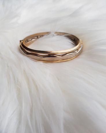 Złoto srebrna bransoletka