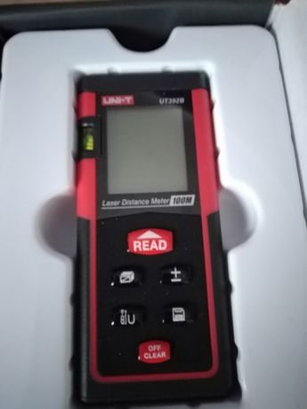 Dalmierz laserowy 100m + baterie wysyłka paczkomatem w cenie