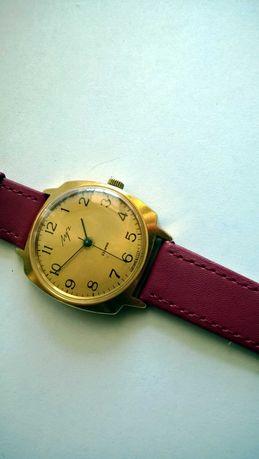 Duży Łucz 23 kamieniowy męski mechaniczny zegarek Au10