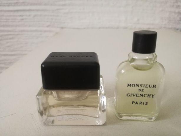 Perfumy - zestaw męskich miniaturek.