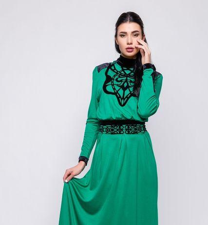 Шикарное макси платье в пол с шнуровкой в талии, бренд zuhvalа,zara