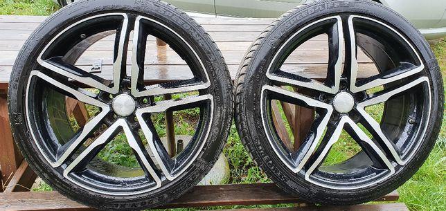 Felgi 20 cali 5x112 9JX20H2 Et33 WheelWorld Audi Wv