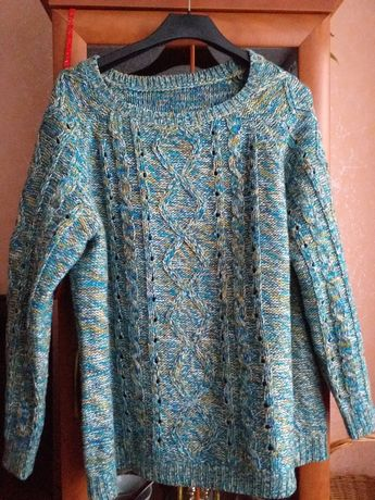 Sweter ciepły 50-54. Darmowa wysyłka