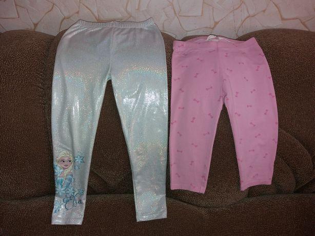 Летние штанишки и капри на худенькую девочку, рост 110