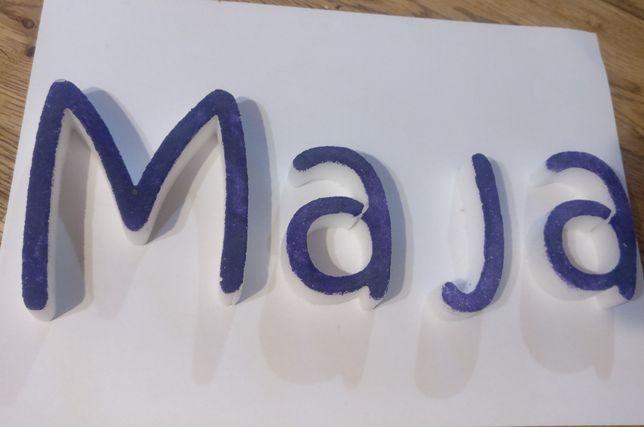 literki Maja styropian