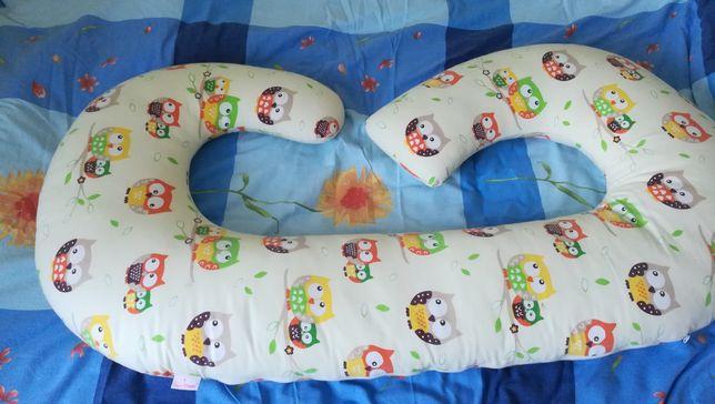 Poduszka ciążowa super mami
