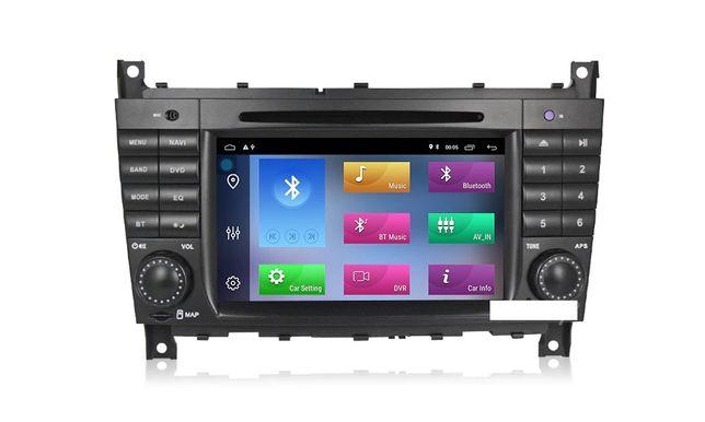 Radio 2din Android 10 Mercedes W203 C200 Viano Vito CLK W209