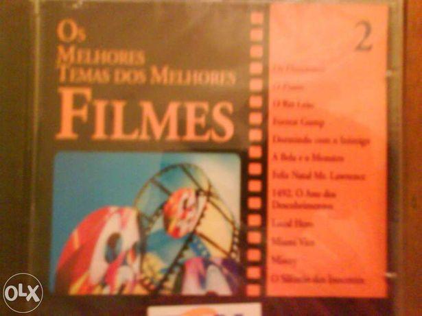 """4 CDs de Musica """"Os Melhores Temas dos Melhores Filmes"""""""