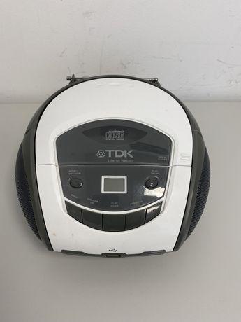 Rádio CD TDK com mp3