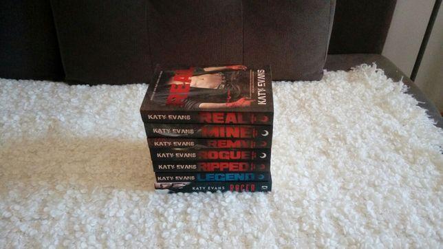 Znakomita cała seria REAL Katy Evans, powieści romanse, Nowe.