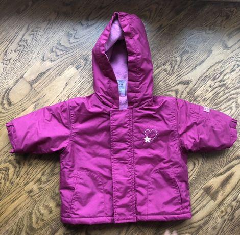 Тёплая курточка 62-68 см