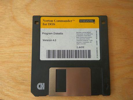 Norton Commander 4.0 for DOS orginalny dysk 1,44