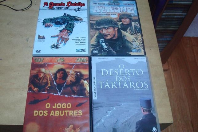 6 filmes guerra , a ultima das guerras,lawrance da arabia, rio kwai